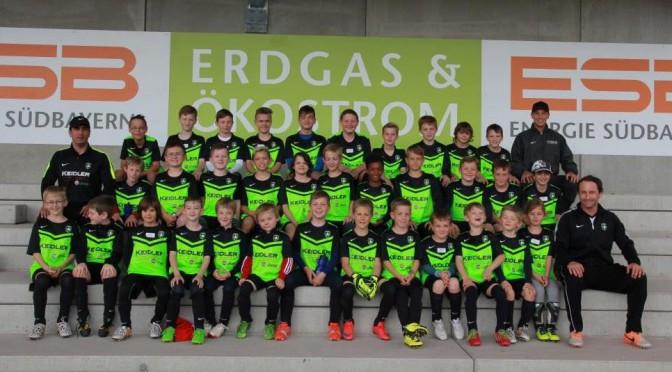 Pfingst-Fußballcamp 2016 beim SV Laufen